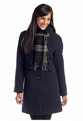 Save 62% Off Coat with Scarf - Order at $99.99