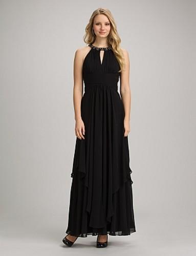 Save 70% Off Amazing Embellished Chiffon Halter Dress