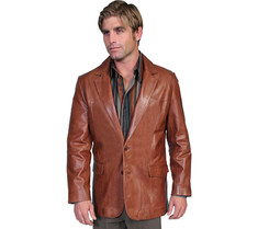 Get $63.79 Off Men's Leather Blazer