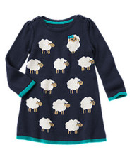 Save $17.36 Off Girls' Sheep Sweater Dress