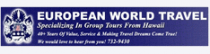 european-world-travel Promo Codes