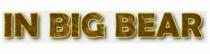 In Big Bear Coupons