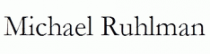 michael-ruhlman Coupon Codes
