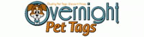 Overnight Pet Tags Coupon Codes