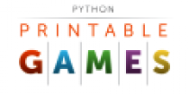 python-printable-games