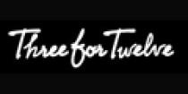 three-for-twelve Promo Codes