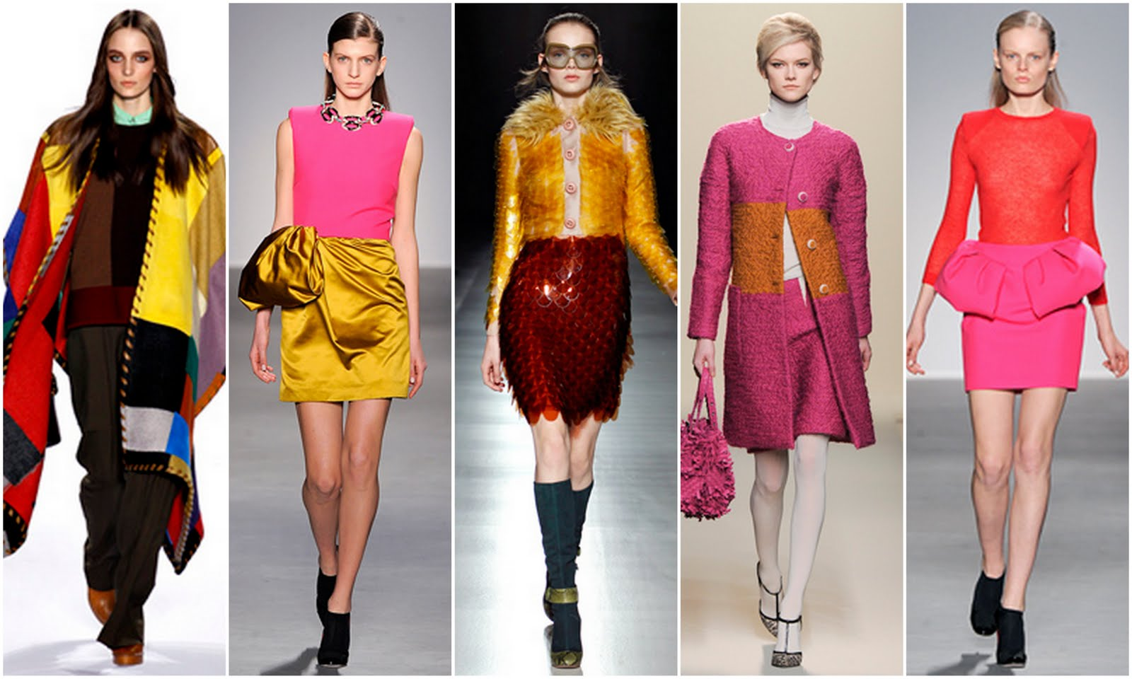 Beautifully Fierce!: London Fashion Week Spring 2014 Trends