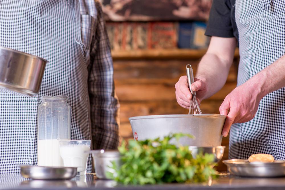 make food at home