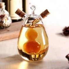 Nordic Style Glass Spice Bottle