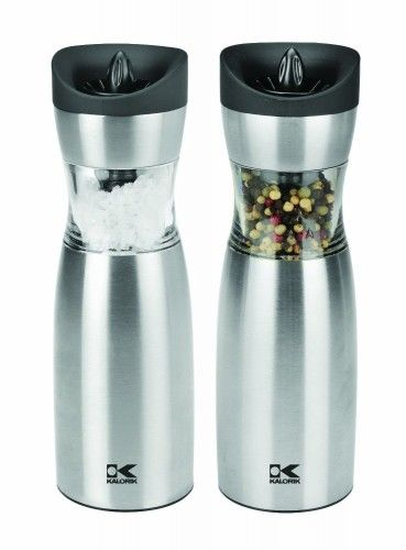 Gravity Salt and Pepper Grinder Set