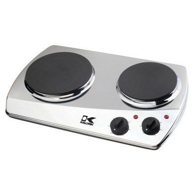 Chrome Double Cooking Plate