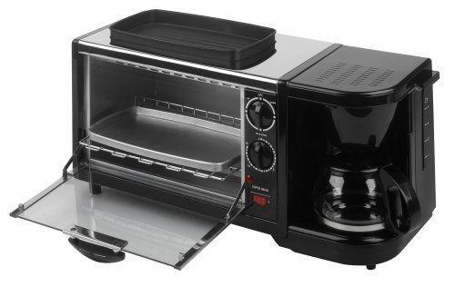 Breakfast Set 3 in 1 Coffee Maker/Oven/Griddle