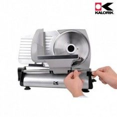 Silver Professional Style Food Slicer